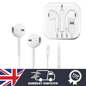 Earphones headphones Bluetooth For iPhone 7 8 X XS 11 12 13 Pro Max with Mic
