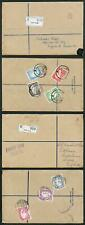 Aden SG1/8 1937 KGVI Part Set on FDC to London
