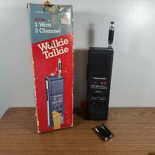 VTG IN BOX  Realistic TRC-214 Walkie Talkie 3Watt 3 Channel