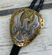 Eagle Bolo Tie Award Design Medals Phoenix Firebird Design Vintage Cowboy