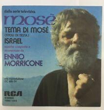 "Colonna sonora ::  MOSE' 45 giri 7"" MORRICONE/NICOLAI ITALY"