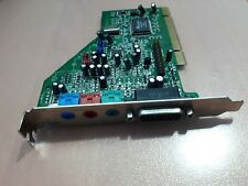 Aztech PCI 338-A3D Sound Blaster Compatible Sound Card with Game Port AU8820B2