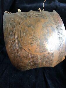 EDWARD AAGAARD SAIL FOR Viking Ship Iron Art  Copenhagen Denmark bronze Danish