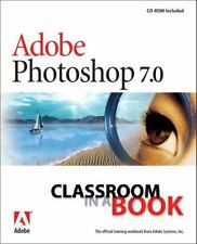 Adobe Photoshop 7.0 Classroom in a Book Adobe Creative Team, Sandee Paperback