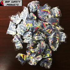 50 PAIRS - HOWARD LEIGHT LASER LITE LL1 EAR PLUGS UNCORDED SLEEP AID PLUGS