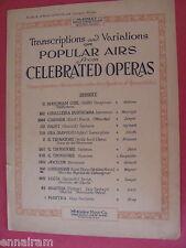 Wagner Lohengrin Bridal Chorus Wedding March 1922 rev Sawyer Marcha Nupcial