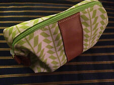 Air France Airlines Business Class Green Amenity Kit Clarins toiletries