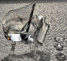 Swarovski Crystal Grand Piano W/ Stool Figurine MIB COA 7477 000 006 / 174506 EE