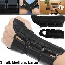 Adjustable Carpal Tunnel Splint Wrist Brace Hand Support Right Left S M L NHS