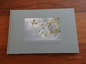 SIGNED Tony Mendoza :Flowers ,1st Edition ,Hard Bound ,NEW - minimal shelf wear