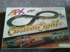 Aurora Vintage AFX -  1981 Custom Eight HO Scale Race Set + Ford & Datsun Trucks