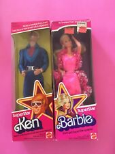 BARBIE & KEN SUPERSTAR 1976 BRAND NEW -  NRFB  -