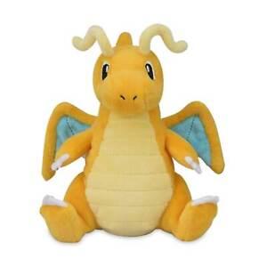 Pokemon Center Original Sitting Cuties Dragonite Plush 6 ½ Inch