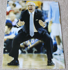 ROY WILLIAMS SIGNED AUTHENTIC 11X14 PHOTO w/COA NCAA COACH UNC NORTH CAROLINA