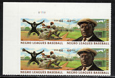 Sc# 4466a 44 Cent Negro Leagues Baseball (2010) MNH PB/4 P# V1111 UL SCV $3.60