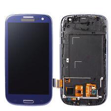 For LCD+TOUCH SCREEN per SAMSUNG GALAXY S3 i9300 SCHERMO VETRO DIGITIZER BLU