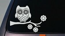 Owl sticker decal car window vinyl *A021*