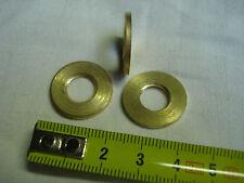 Rondelles écrou en laiton Ø 20 mm filetées (lot de 3) pas 10 mm x 1 mm (réf RF1)