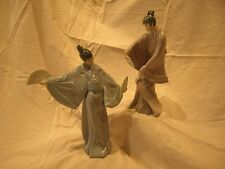 Two Porcelain Japanese Dolls