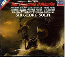 Wagner: Der Fliegende Holländer / Solti, Kollo, Talvela, Bailey, Chicago - CD