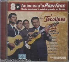 Los Tecolines CD NEW 24 Exitos Vol 2 - 80 Aniversario PEERLESS New SEALED