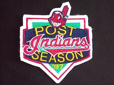 Official 1997 POST SEASON Patch - Jacobs Field - Cleveland Indians - NEW/MINT