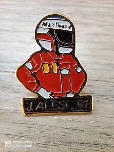 Pin's vintage épinglette pins collector Pub Marlboro Jean ALESI F1 Lot PR075