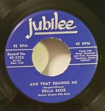 "Della Reese Jubilee 5292 ""AND THAT REMINDS ME"" FREE SHIPPING"