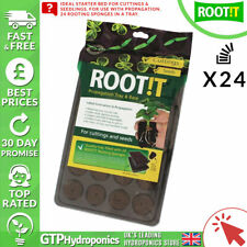Root It Propagation Tray & Base (24 Sponges) - Root!T Seed Cutting Starter Plugs