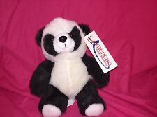 "New Panda Bear Plush 7.5"" Stuffed animal plush toy"