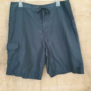 Nike 6.0 Grayish Green Board Shorts Swim Trunks Men's Size 34