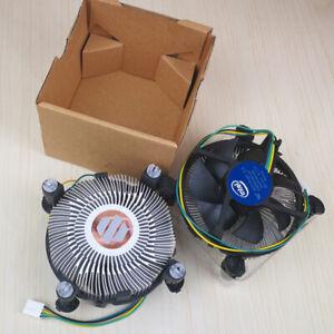 For INTEL Copper Core i3 i5 CPU Heatsink Fan E97379-003 Cooler LGA 1155 1156#RC