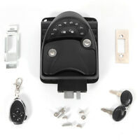 Keyless RV Keypad Entry Door RVLock Handle Knob Deadbolt  Camper Trailer Black