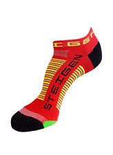 Steigen Red Zero Length Performance Running and Cycling Socks