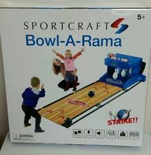 Sportcraft Bowl-A-Rama Bowler Bowling Arcade Game Bowlercade STRIKE BOWL A RAMA