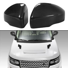 FOR RANGE ROVER Sport 2013-2017 REAL CARBON FIBER SIDE MIRROR COVER CAPS PAIR