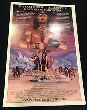 Conan the Destroyer Original 1984 Rolled One Sheet Movie Poster 27x41 US Advance