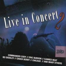 Live in Concert 2 + CD + merce nuova + Burdon + Chicago particolare