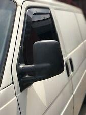 SNED VW01 Wind Deflectors Smoked Finish Volkswagen Transporter T4 Van New
