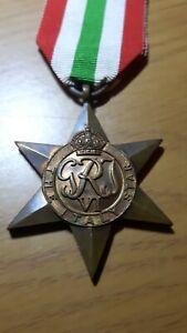 Original WW2 Italy Star