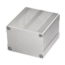 Silver Aluminum Project Enclosure Electronic Box Case DIY Split Body -38*51*55mm
