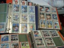 1200+++  1982 TOPPS BASEBALL CARDS IN 85 SHEETS NRMT-MT SORTED BY TEAM ROOKIES +