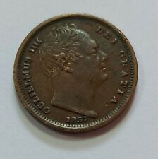 More details for rare 1837 william iv half-farthing vf