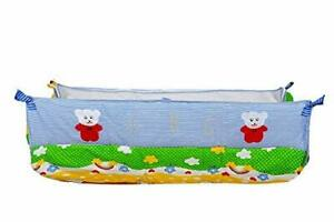 Cuteably™ Born Baby khoya Cradle Cloth Baby zoli with Mosquito net (Blue)