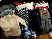 BABY BOY  BIG LOT OF 52 PC 3-6 Month VERY GOOD CONDITION