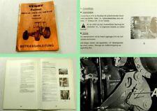 Fendt Farmer 305 306 308 309 S LS Turbomatik Betriebsanleitung Bedienung 1981