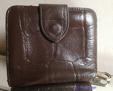 Mulberry Brown Congo Leather Purse/Wallet - RESTORED & NICE!!