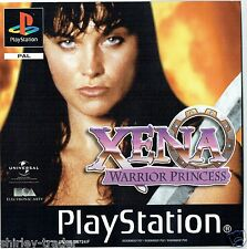 Xena Warrior Princess (Sony Playstation 2, 2005) - Versión Europea