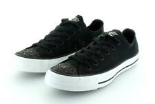 Converse All Star Chuck Taylor Ox Black Glam Gr. 37,5 / 38,5