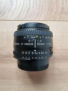 Nikon Nikkor 50mm f/1.8 AF D Lens